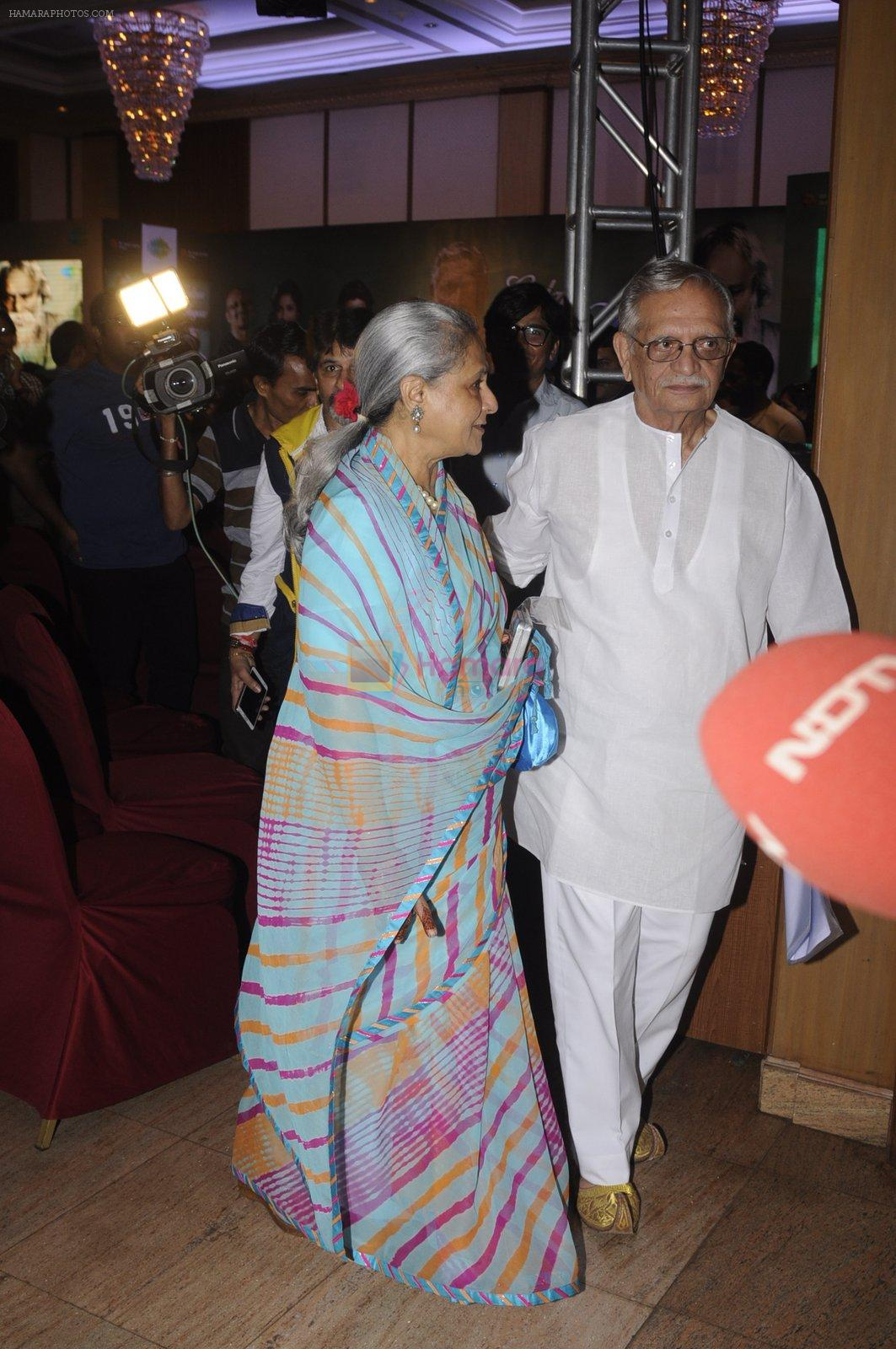 Jaya Bachchan at Gulzar album launch on 18th Oct 2016