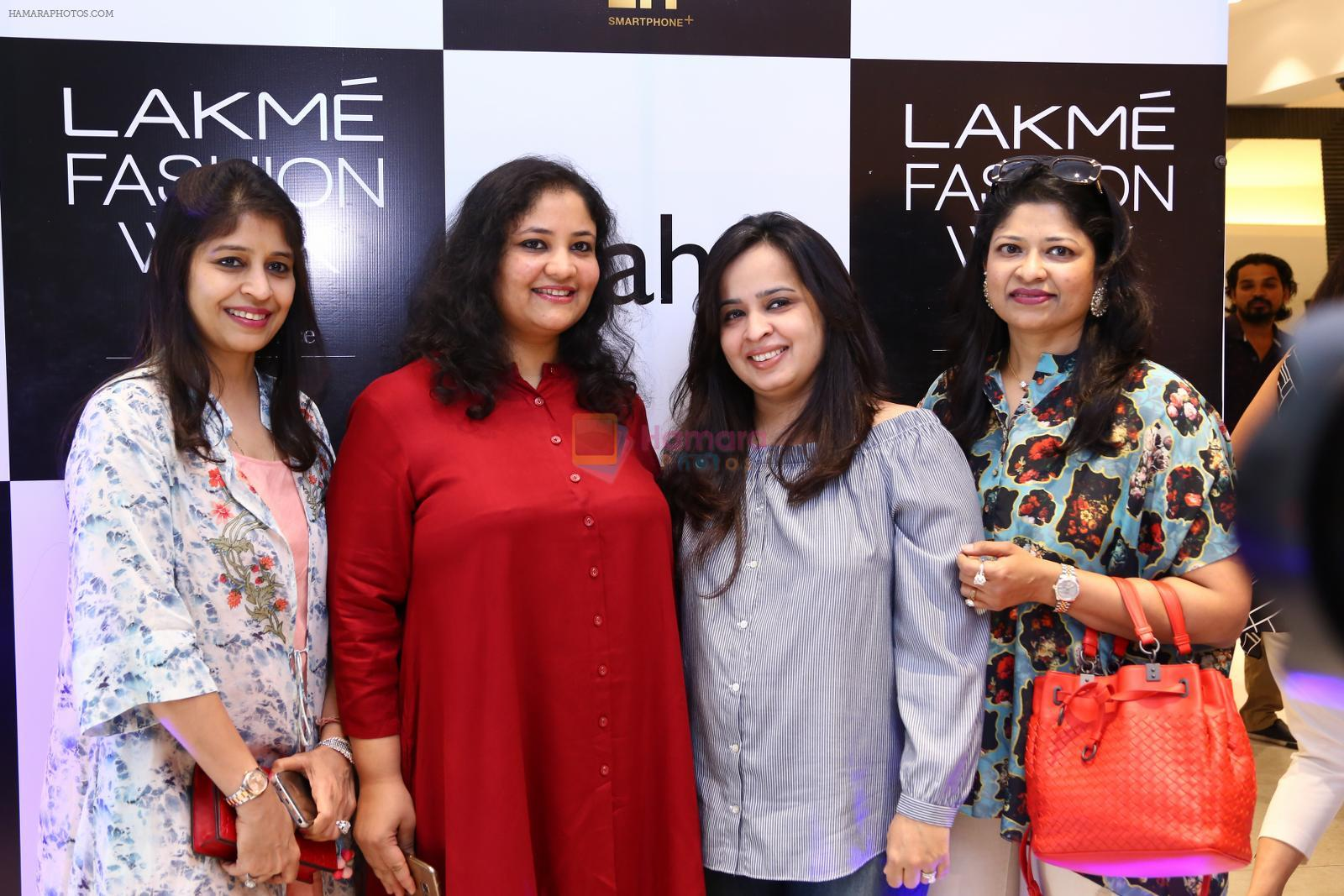 at Lakme Fashion Week at Elahe and Heroines on 18th Oct 2016
