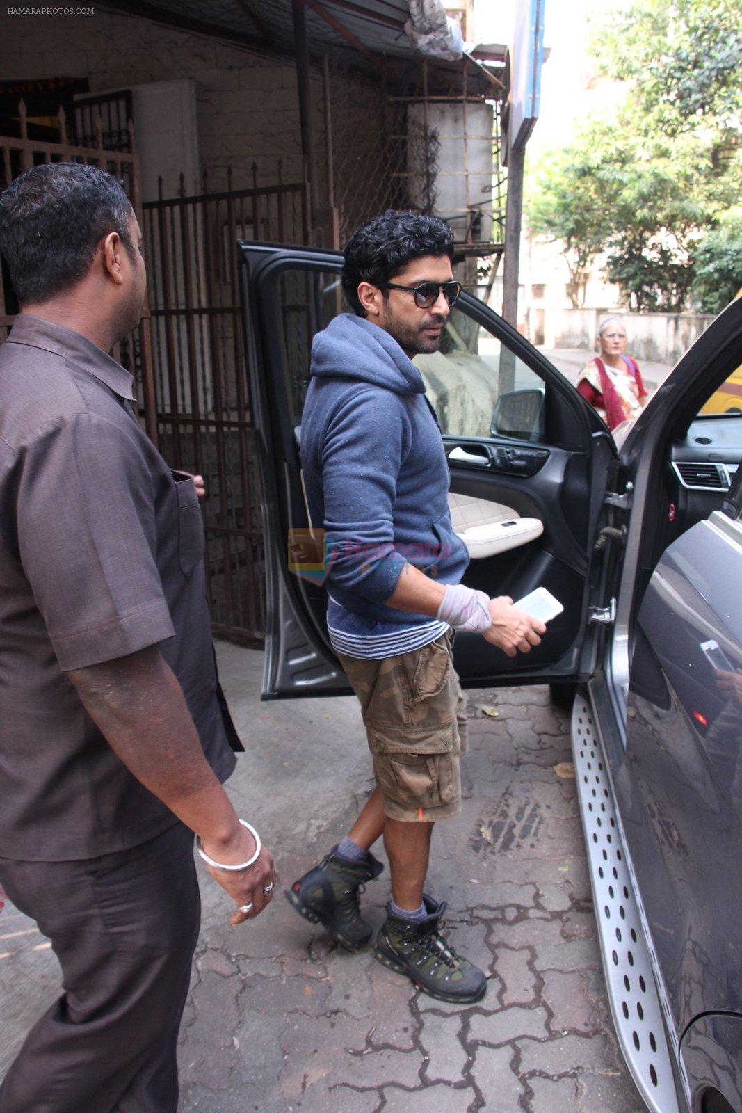 Farhan Akhtar snapped on 18th Oct 2016