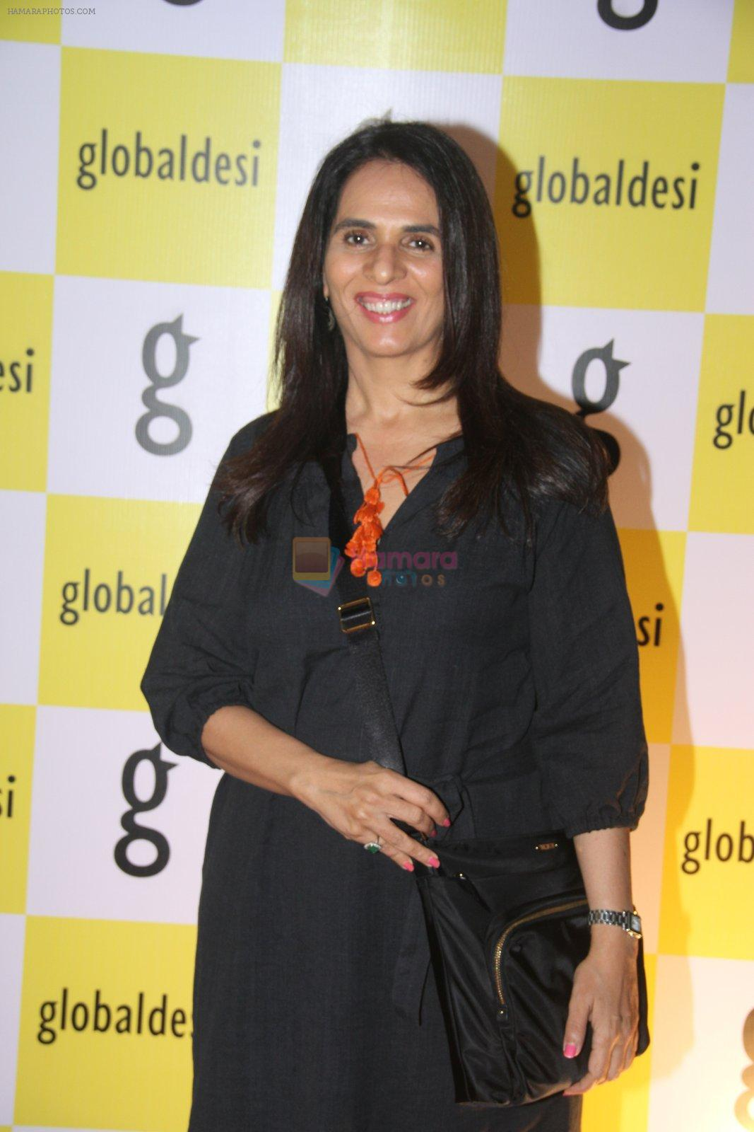 Anita Dongre snapped at Global Desi store launch at Linking Road on 25th Oct 2016
