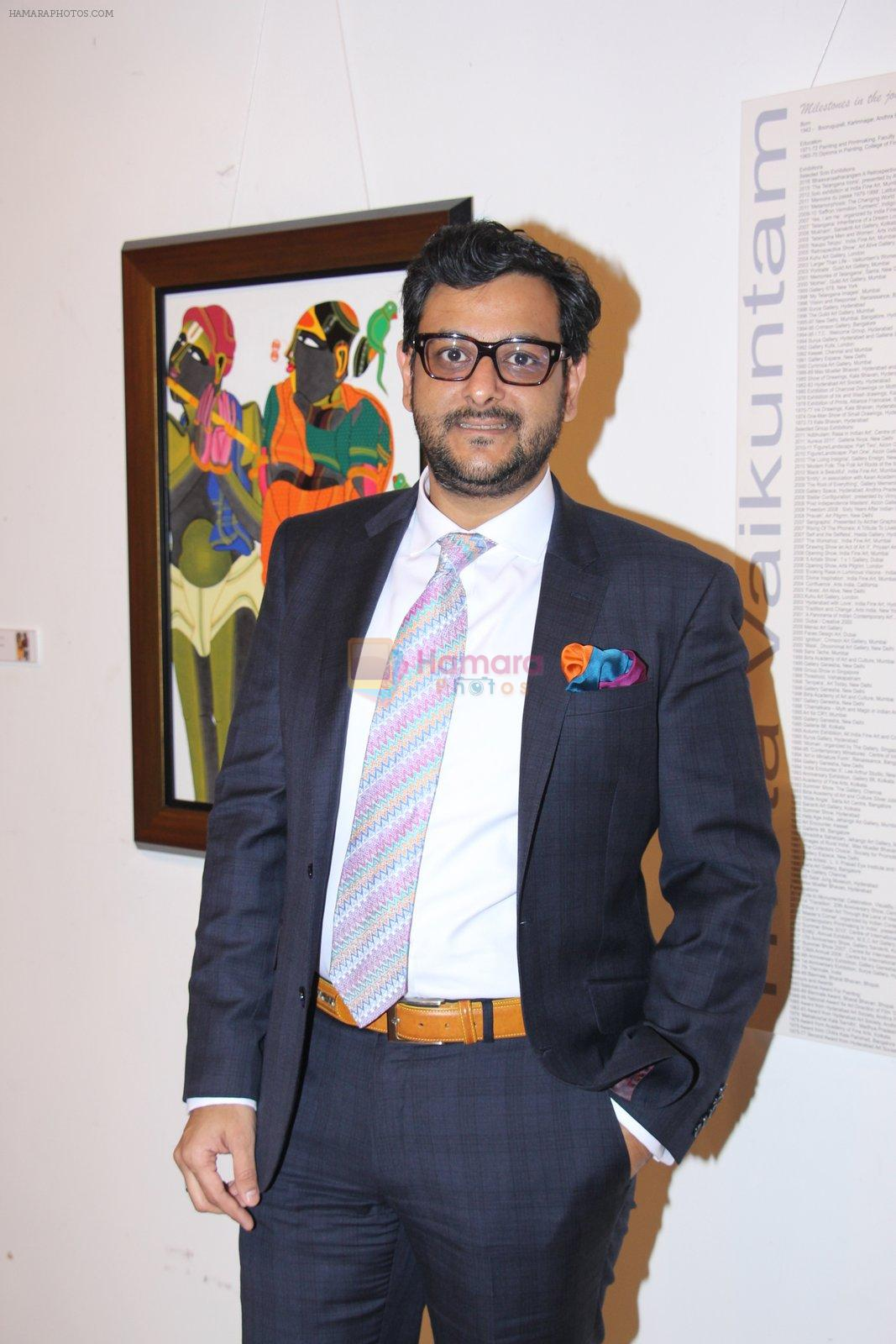 at Thota Vaikuntam art show hosted by India Fine Art on 15th Nov 2016