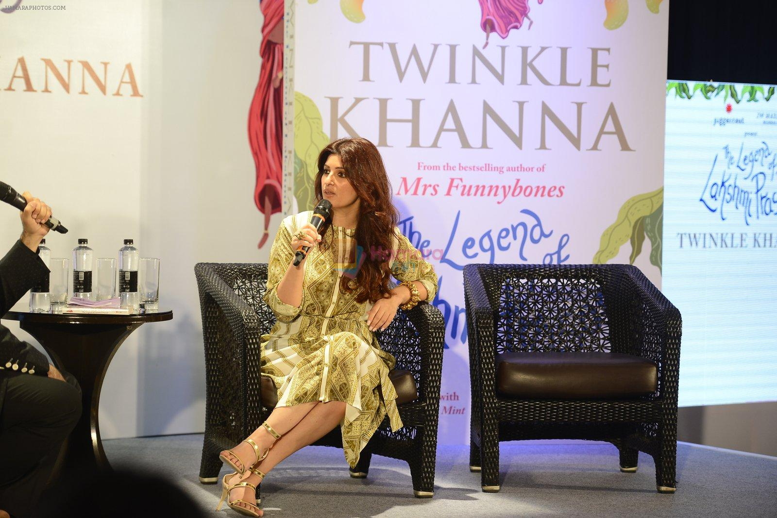 Twinkle Khanna's book launch in J W Marriott, Mumbai on 15th Nov 2016