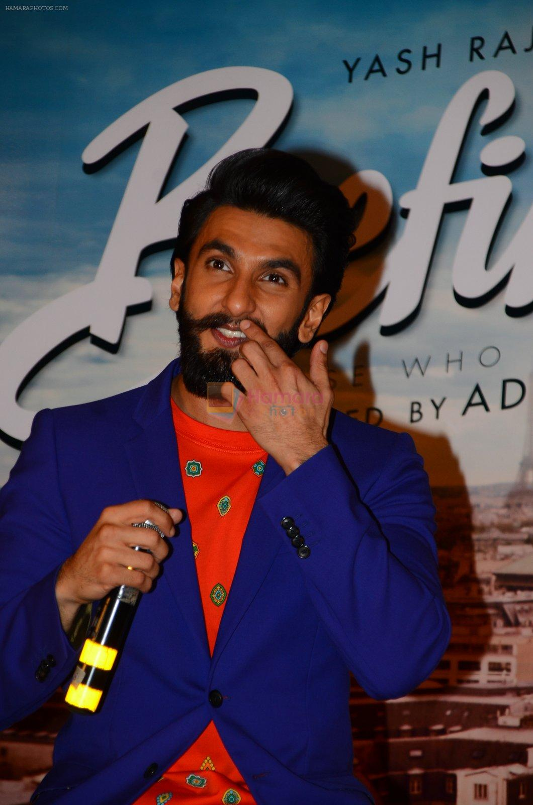 Ranveer Singh at Befikre promotions in Mumbai on 15th Nov 2016