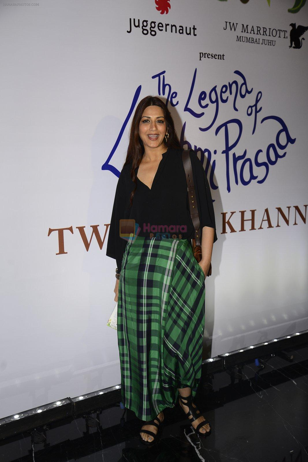 Sonali Bendre at Twinkle Khanna's book launch in J W Marriott, Mumbai on 15th Nov 2016