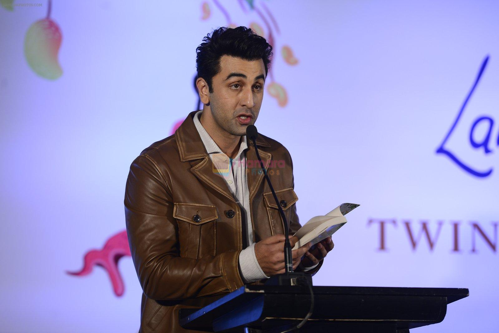 Ranbir Kapoor at Twinkle Khanna's book launch in J W Marriott, Mumbai on 15th Nov 2016