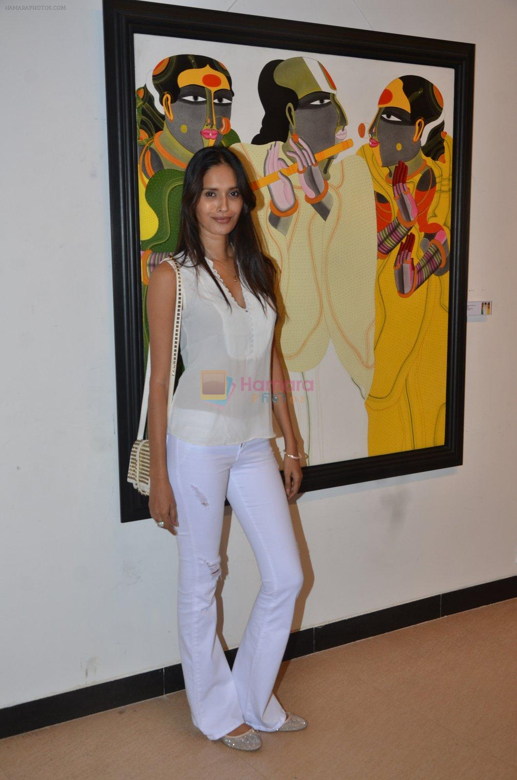 Ujjwala Raut at Thota Vaikuntam art show hosted by India Fine Art on 15th Nov 2016