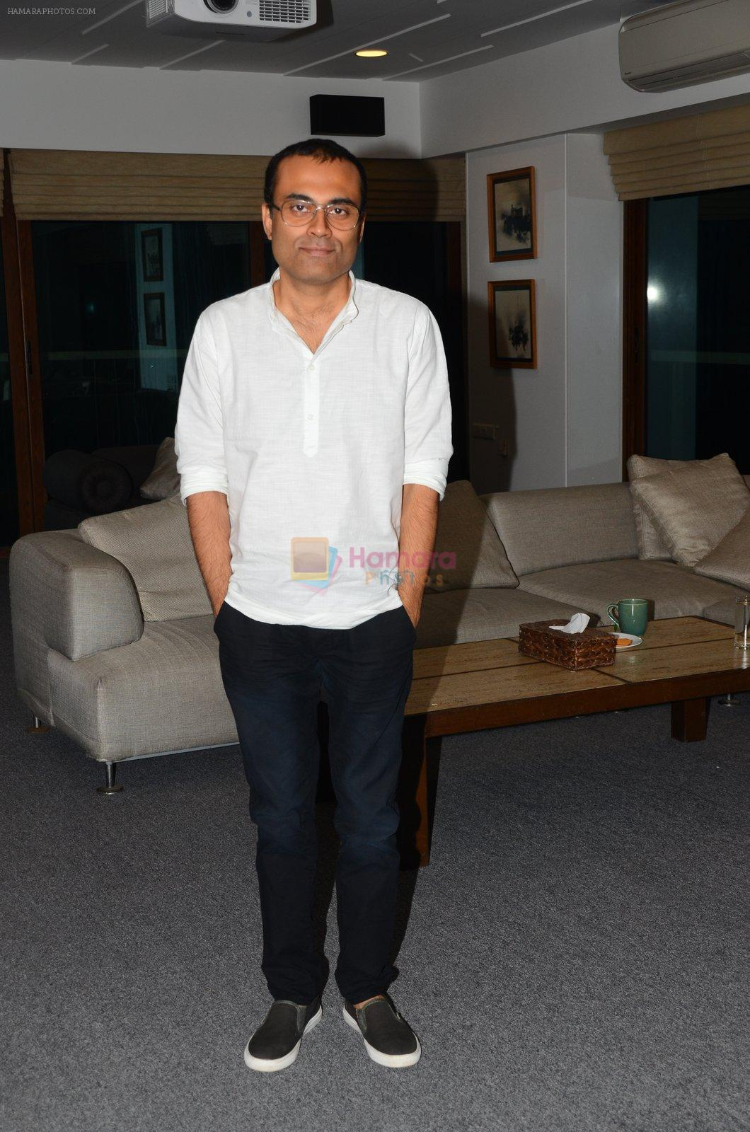 Nitesh Tiwari at Dangal interview in Mumbai on 16th Nov 2016