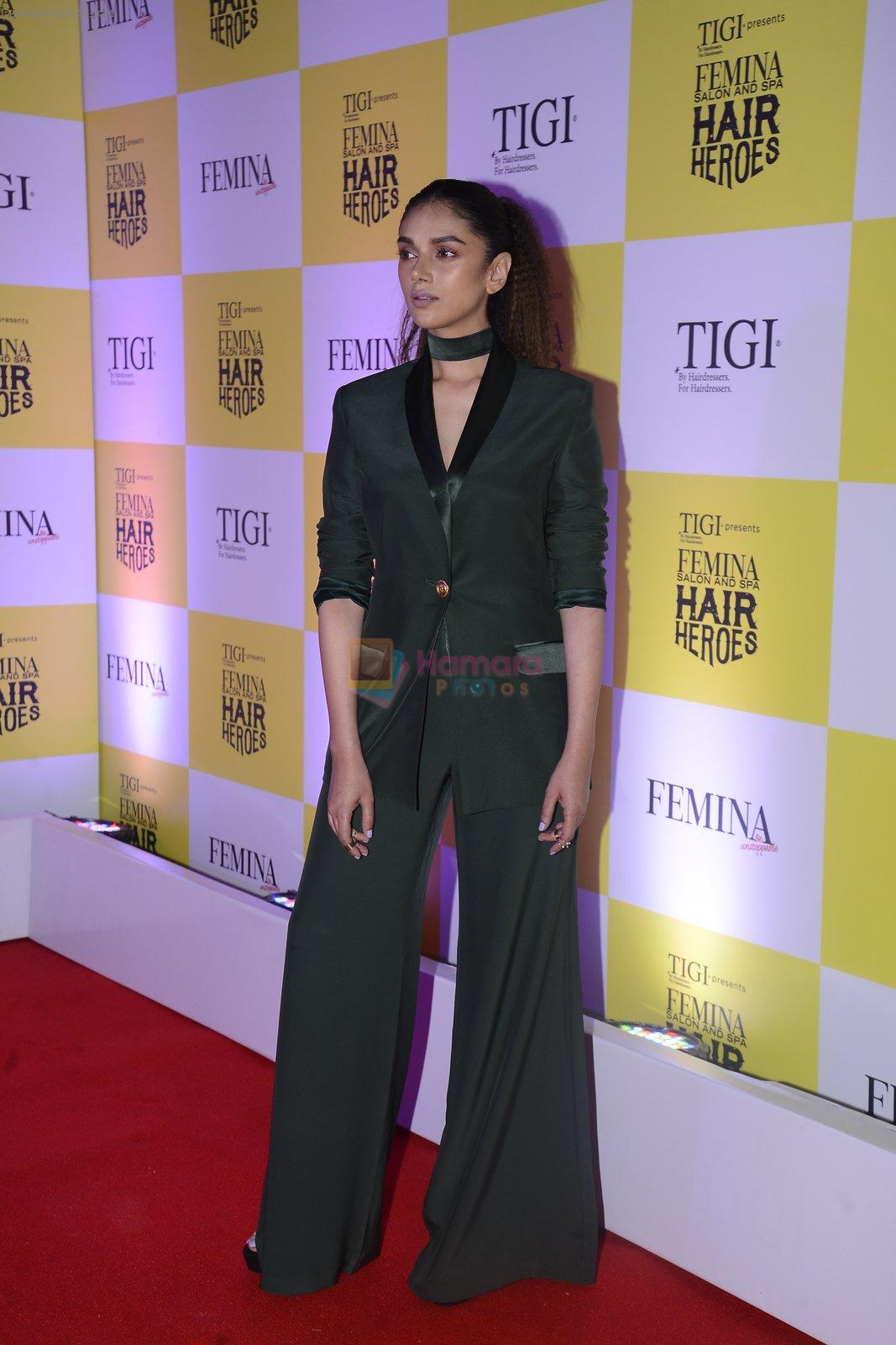Aditi Rao Hydari at Femina Salon And Spa Hair Heroes awards on 16th Nov 2016