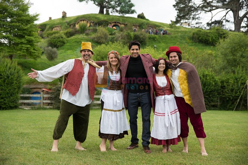 Sidharth Malhotra vissits The Hobbiton in New Zealand 1