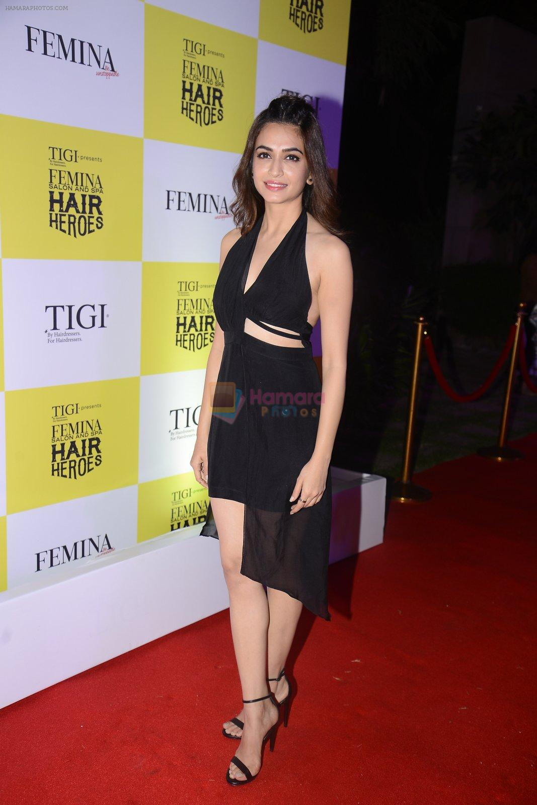 Kriti Kharbanda at Femina Salon And Spa Hair Heroes awards on 16th Nov 2016