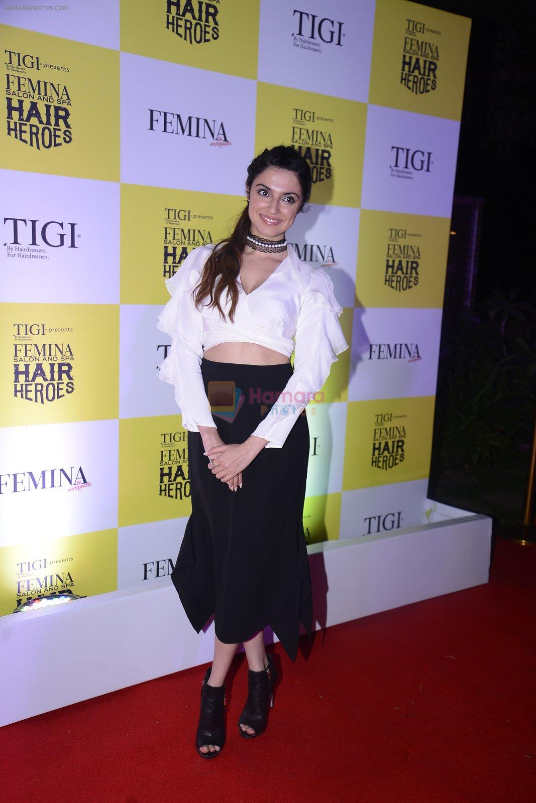 Divya Kumar at Femina Salon And Spa Hair Heroes awards on 16th Nov 2016