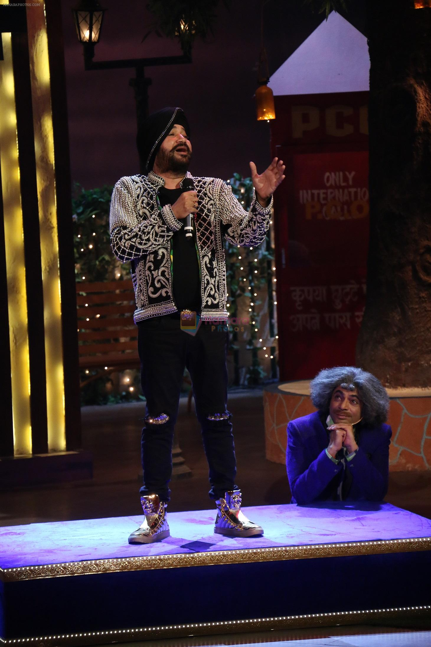 Daler Mehndi on The Kapil Sharma Show on 16th Nov 2016