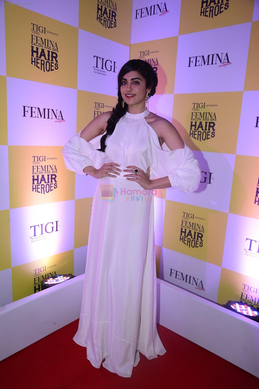 Adah Sharma at Femina Salon And Spa Hair Heroes awards on 16th Nov 2016