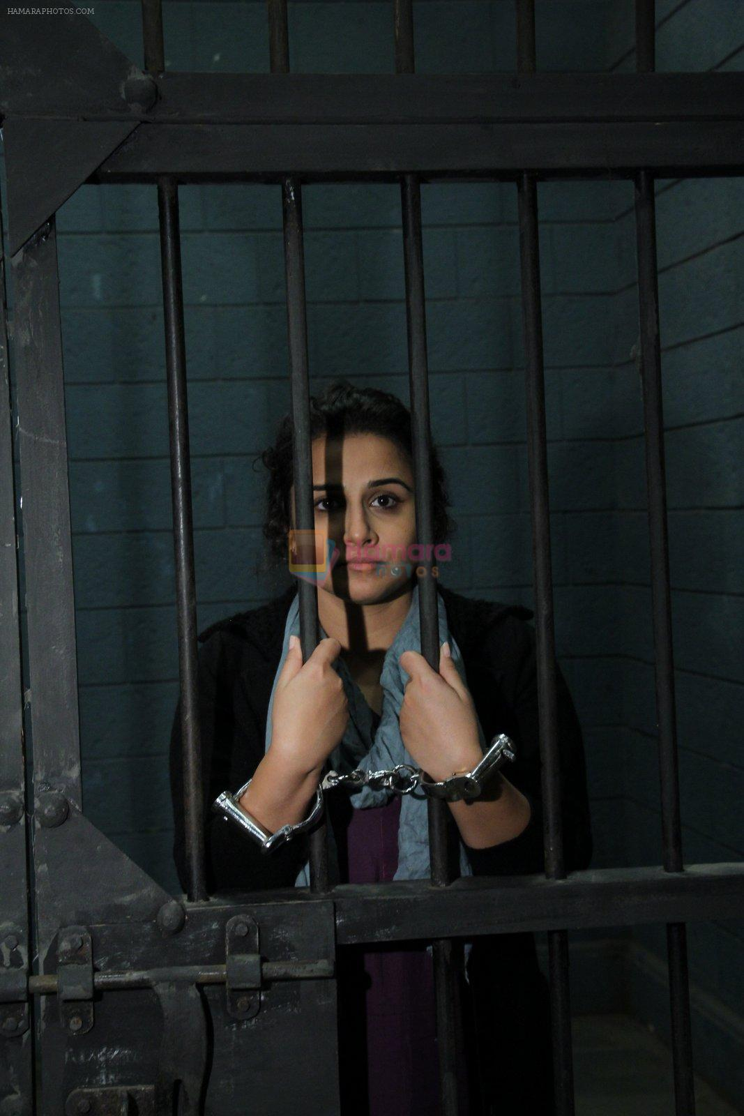 Vidya Balan promotes Kahaani 2  in a jail set on 16th Nov 2016