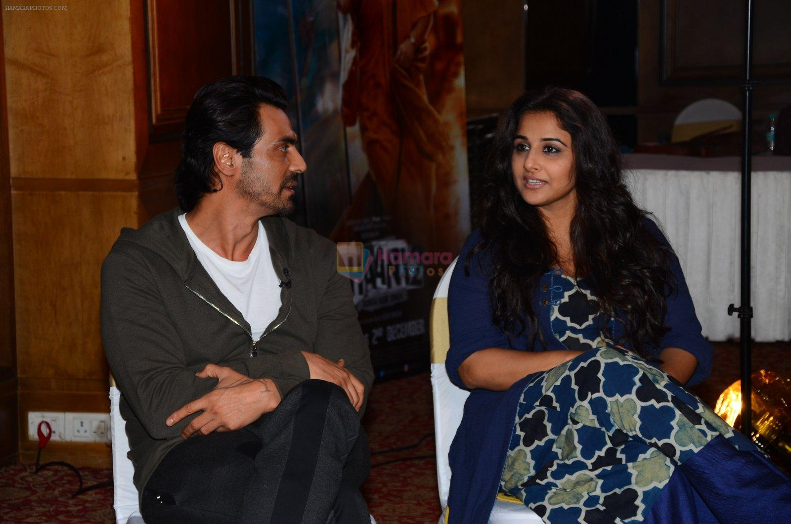 Vidya Balan and Arjun Rampal promote Kahaani 2 on 17th Nov 2016