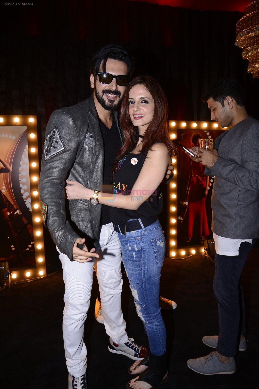 Suzanne Khan, Zayed Khan at Koovs launch by Gauri and Nainika on 17th Nov 2016