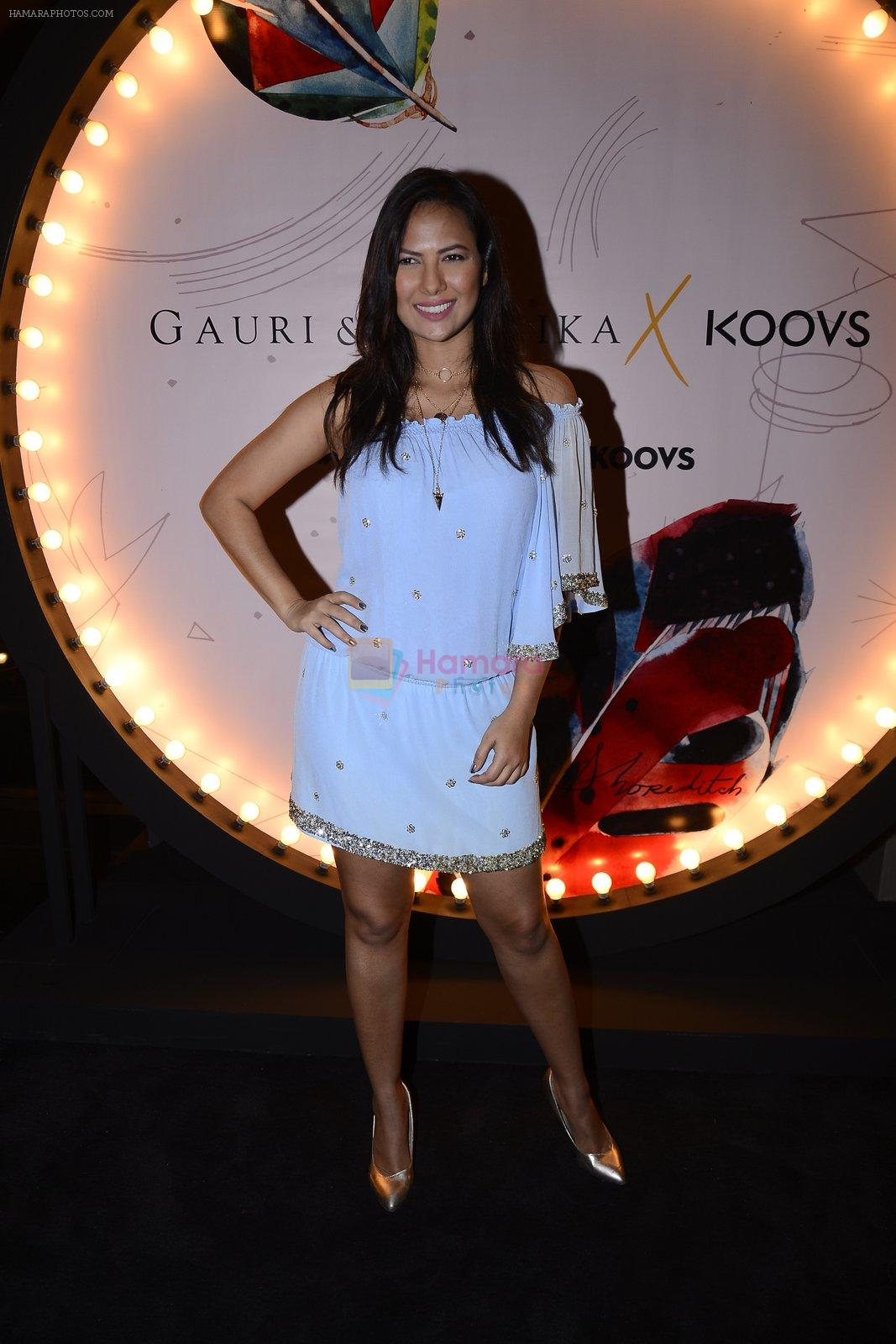 Rochelle Rao at Koovs launch by Gauri and Nainika on 17th Nov 2016