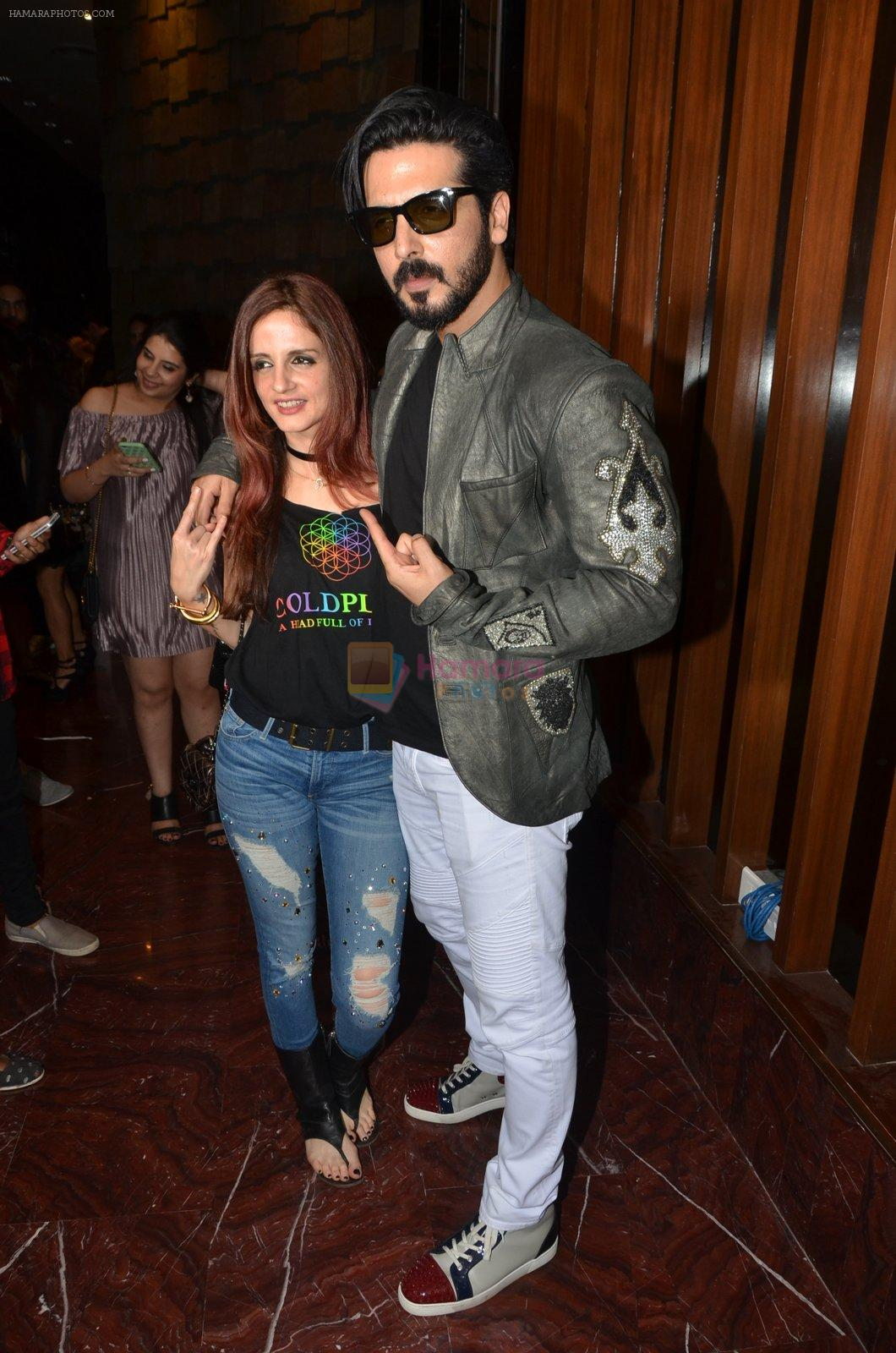 Zayed Khan at Koovs launch by Gauri and Nainika on 17th Nov 2016