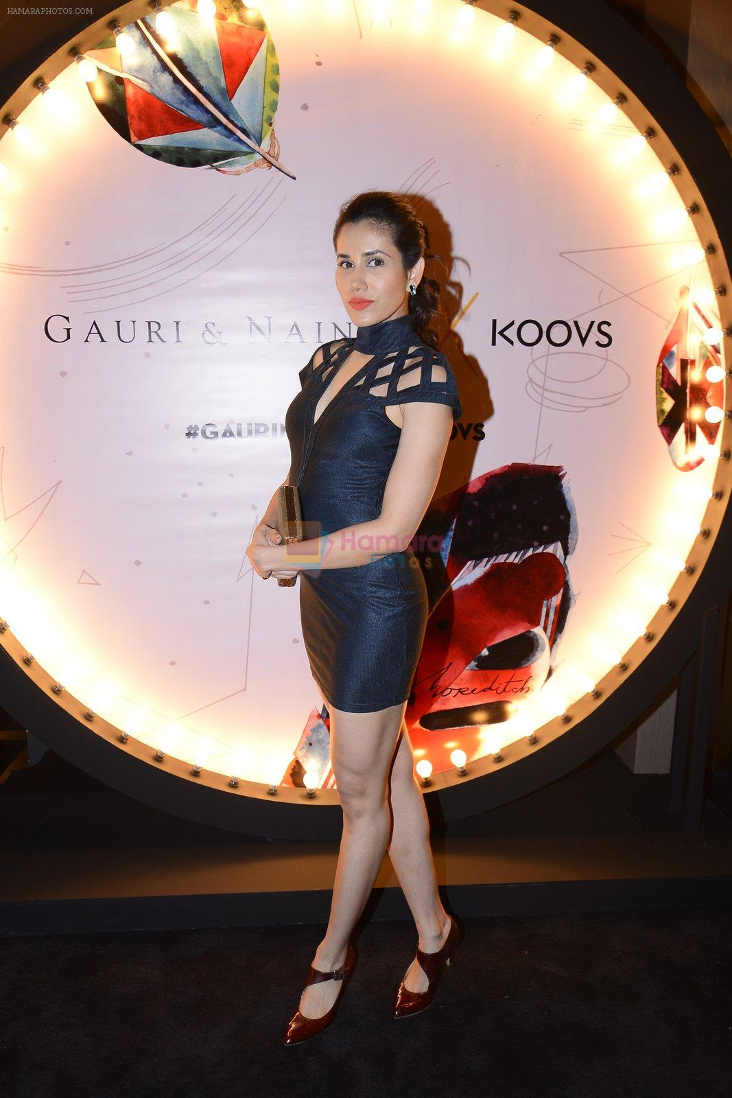 Sonnalli Seygall at Koovs launch by Gauri and Nainika on 17th Nov 2016