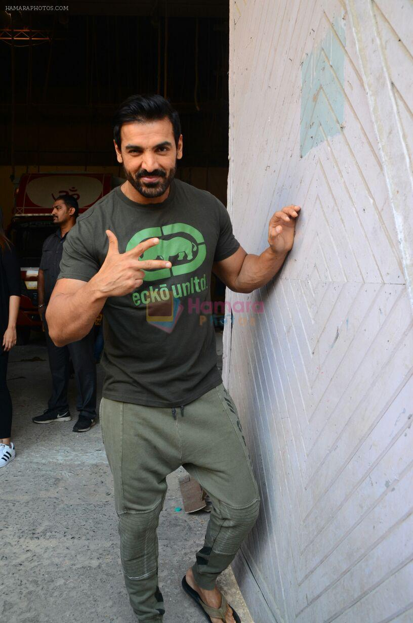 John Abraham at Force 2 photo shoot in Mumbai on 17th Nov 2016