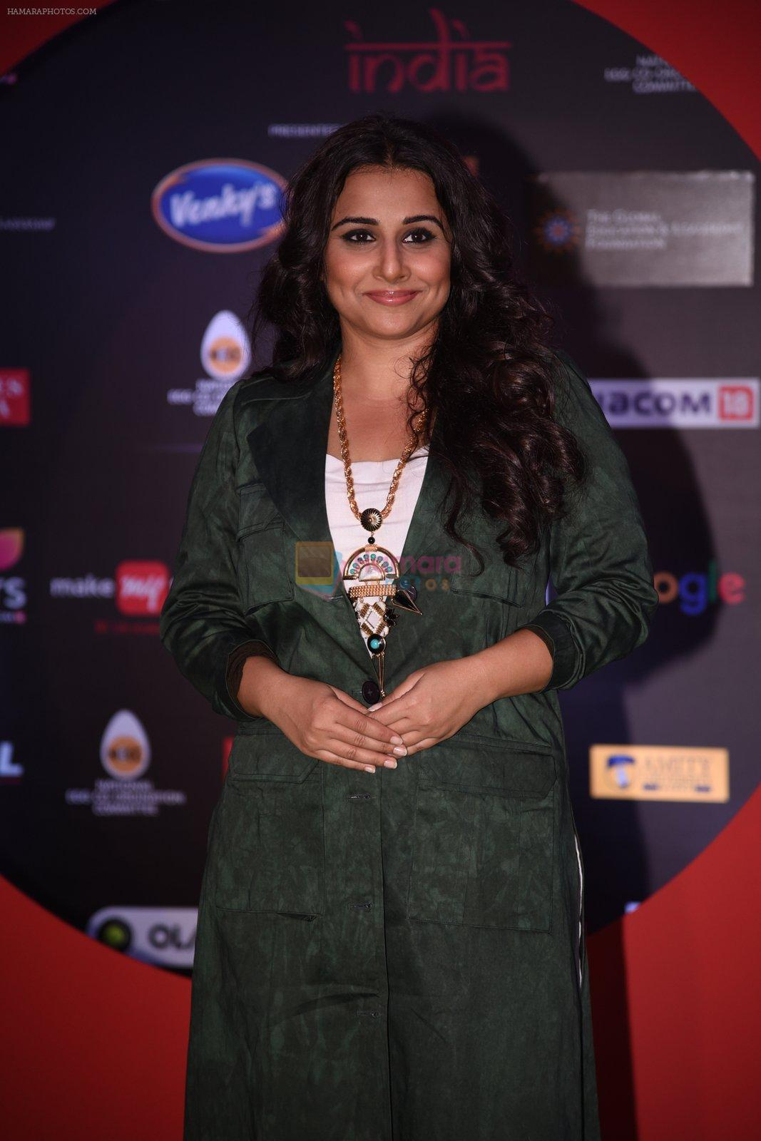 Vidya Balan at Global Citizen Festival India 2016 on 18th Nov 2016