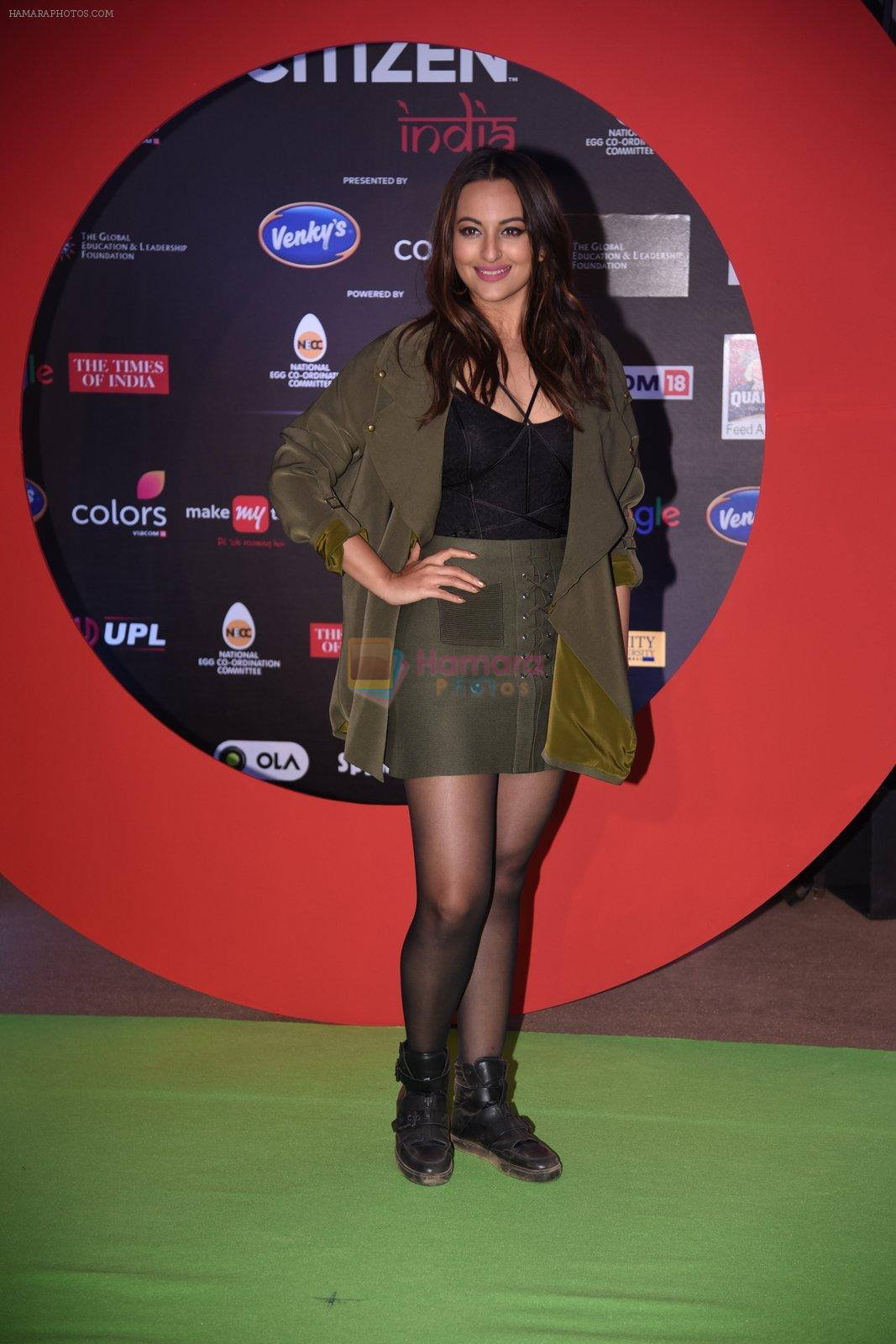 Sonakshi Sinha at Global Citizen Festival India 2016 on 18th Nov 2016