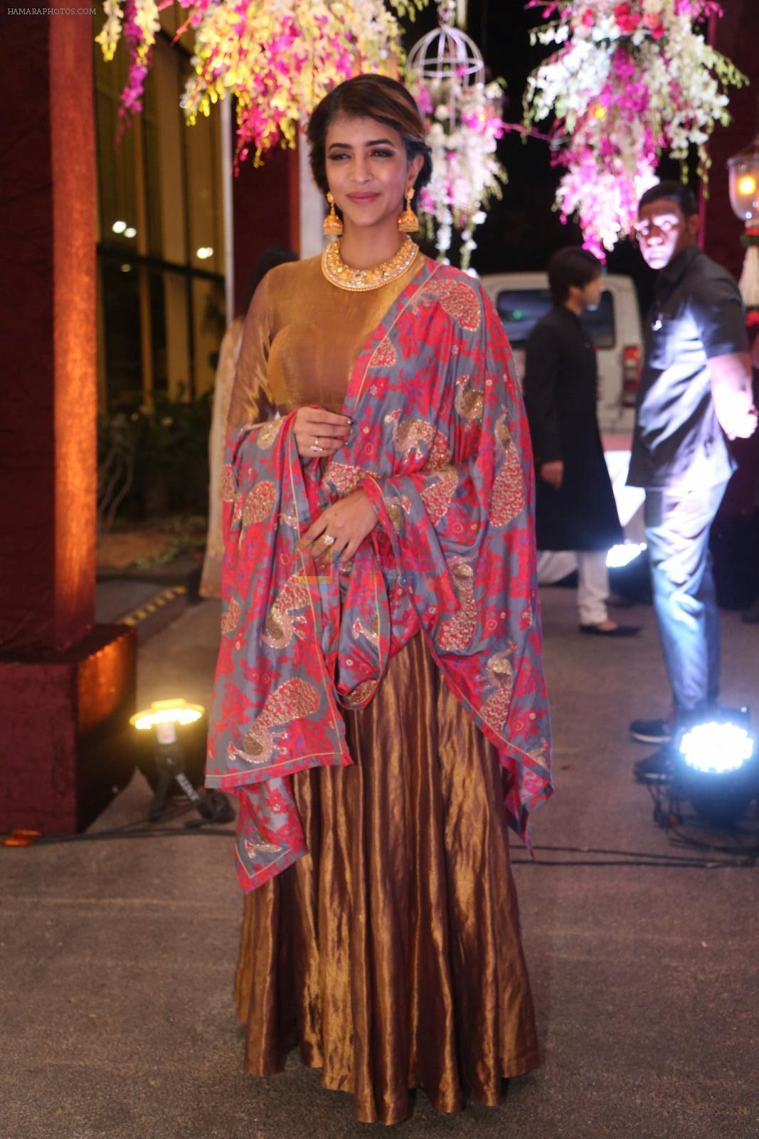 Lakshmi Manchu at anam mirza and akbar rasheed wedding reception on 18th Nov 2016