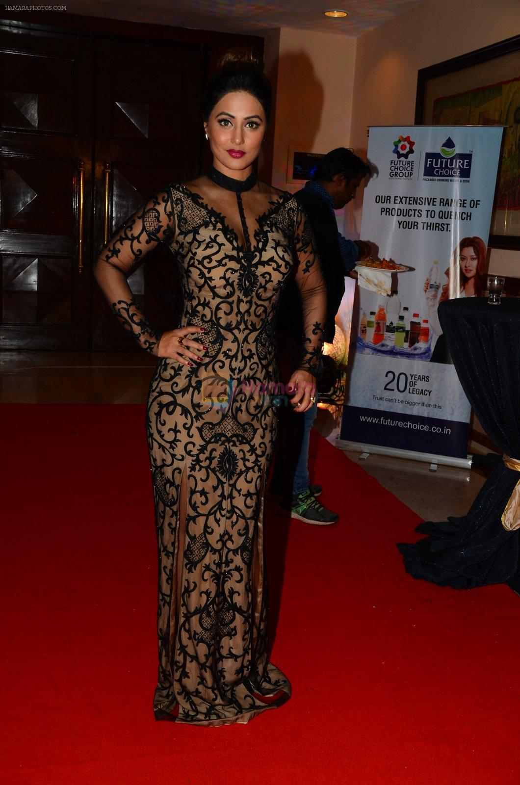 Hina Khan at ABP bash on 20th Nov 2016