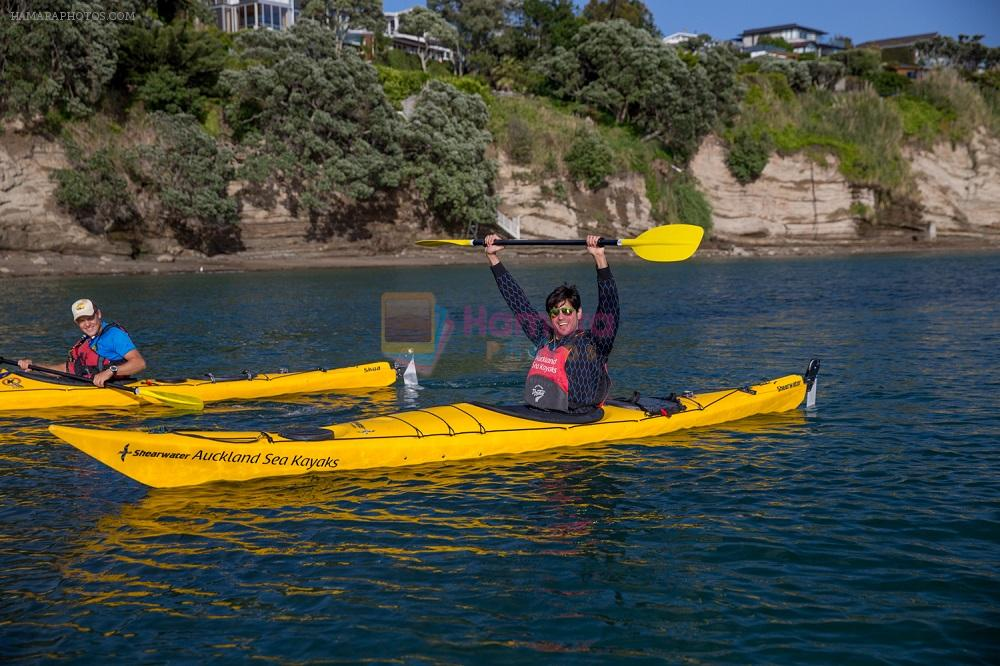 Sidharth Malhotra's kayaking workout in New Zealand