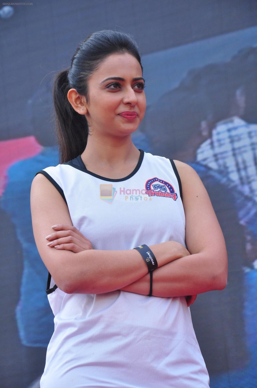 Rakul Preet Singh participate in Fitnessunplugged for Rape Victims Event on 20th Nov