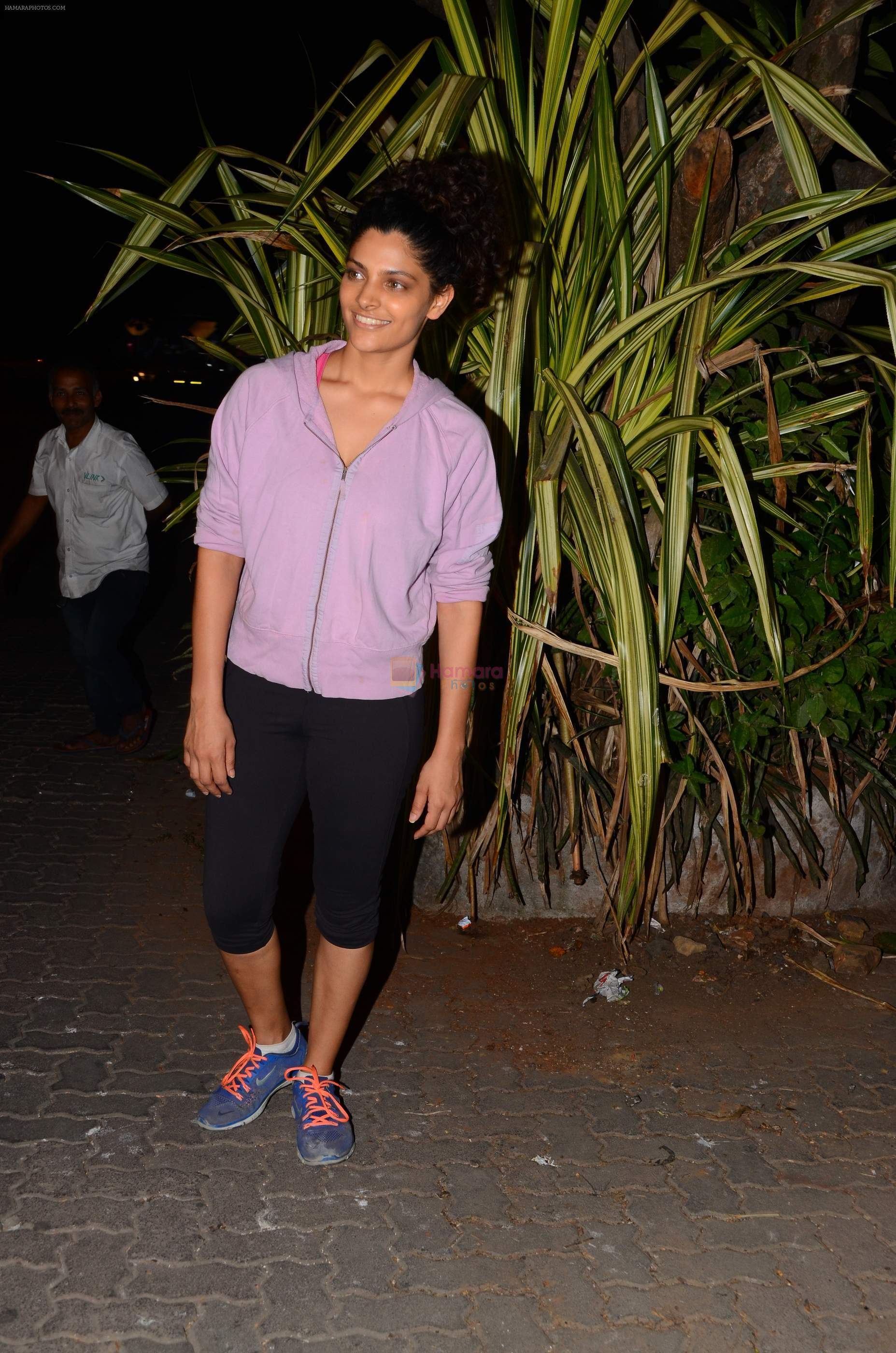 Saiyami Kher snapped at Bandra on 21st Nov 2016