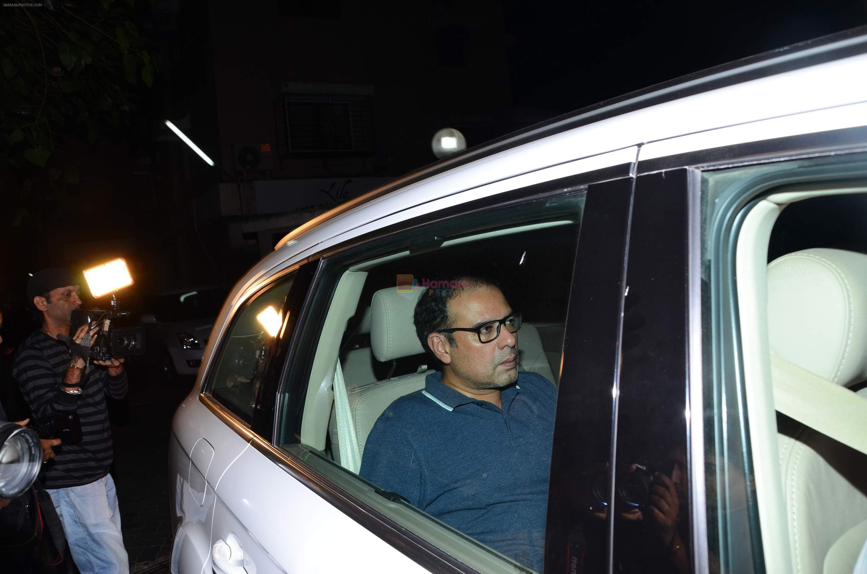 Atul Agnihotri snapped at Amrita Arora's bash on 21st Nov 2016