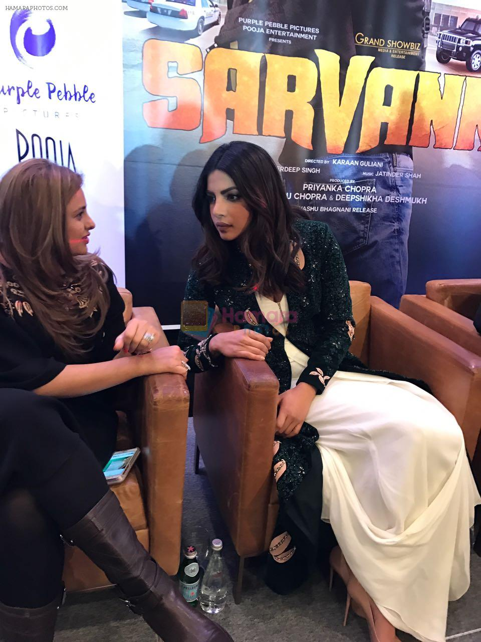 Trailer launch of Punjabi Film- Sarvaan- Produced by Priyanka Chopra & Deepshikha Deshmukh