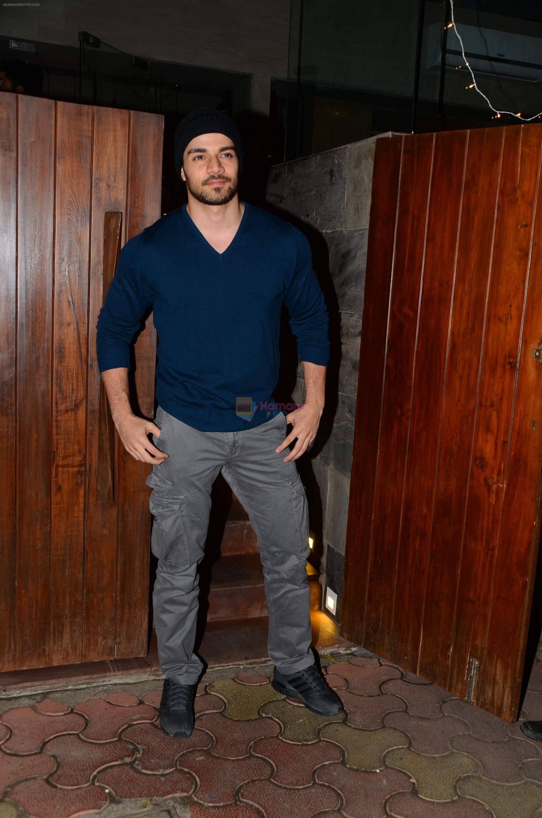 Sooraj Pancholi snapped on 21st Nov 2016