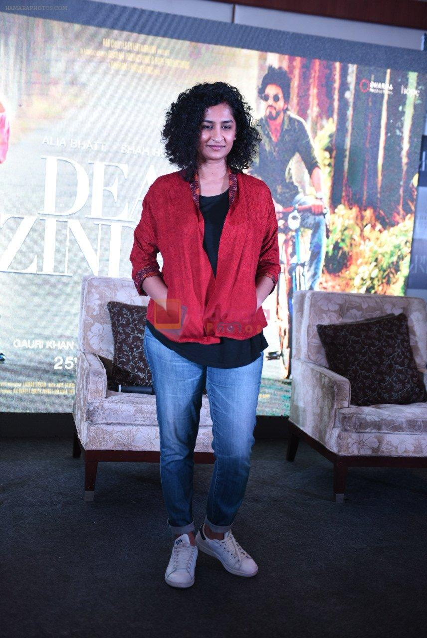 Gauri Shinde at Dear Zindagi press meet on 22nd Nov 2016