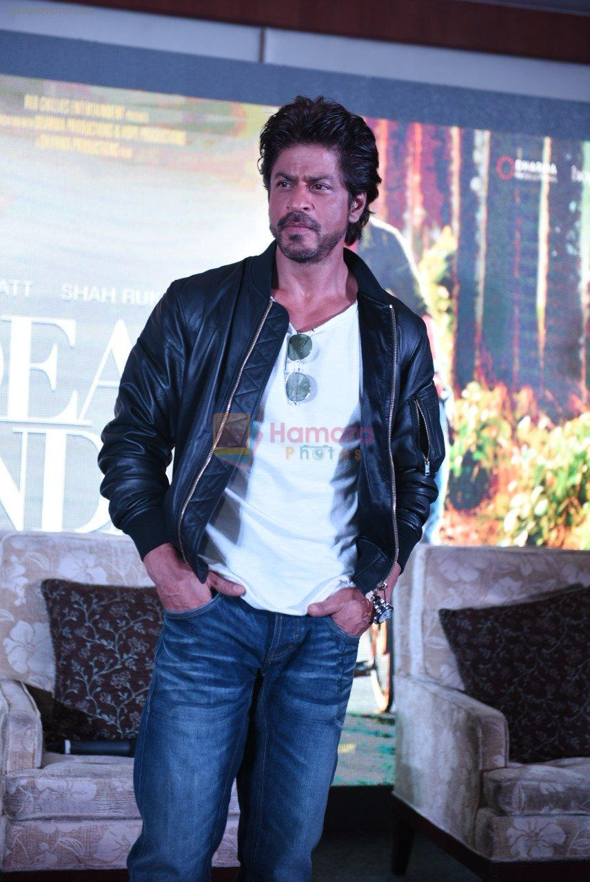 Shahrukh Khan at Dear Zindagi press meet on 22nd Nov 2016
