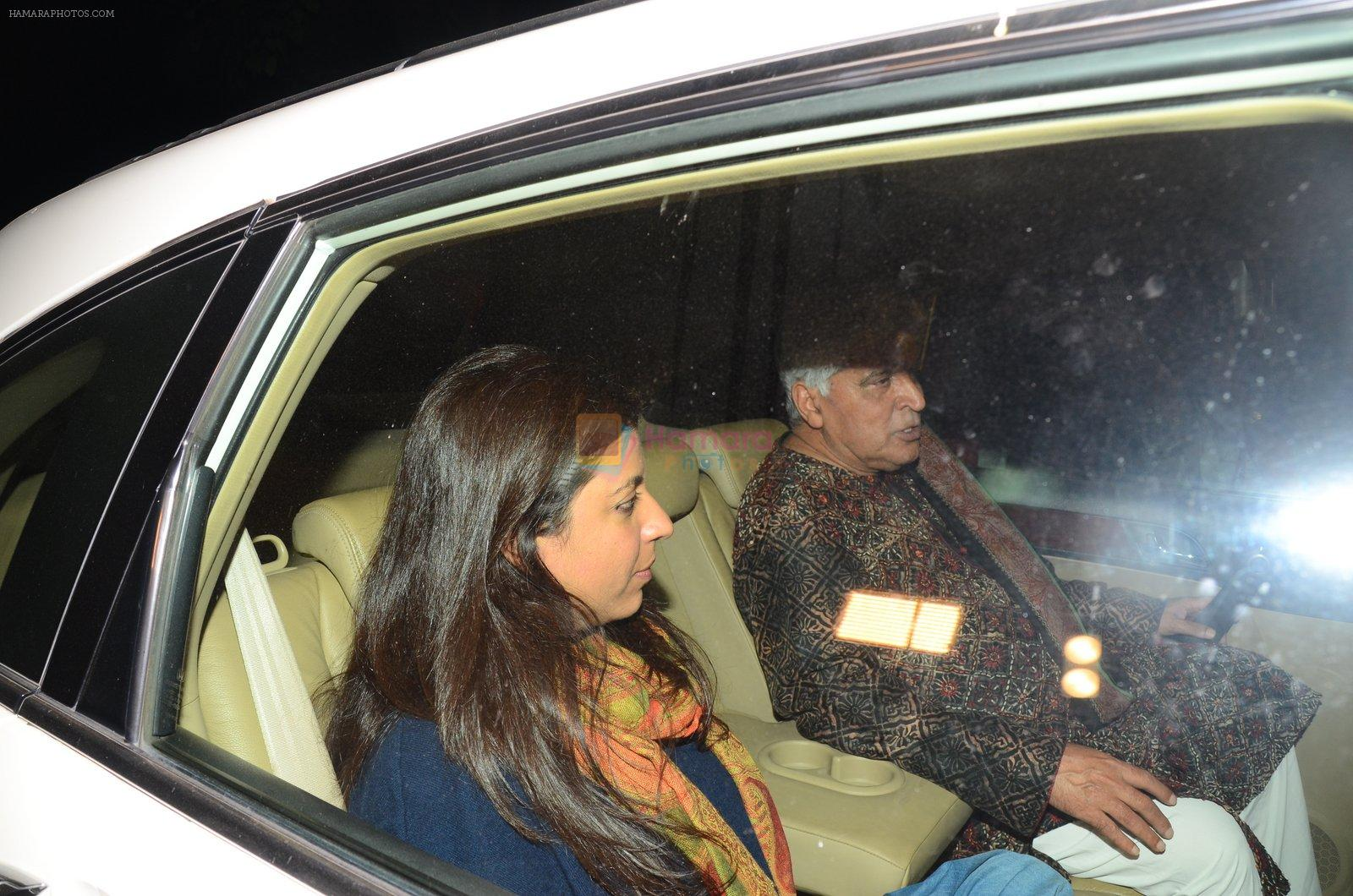 Zoya Akhtar at Dear Zindagi screening on 23rd Nov 2016