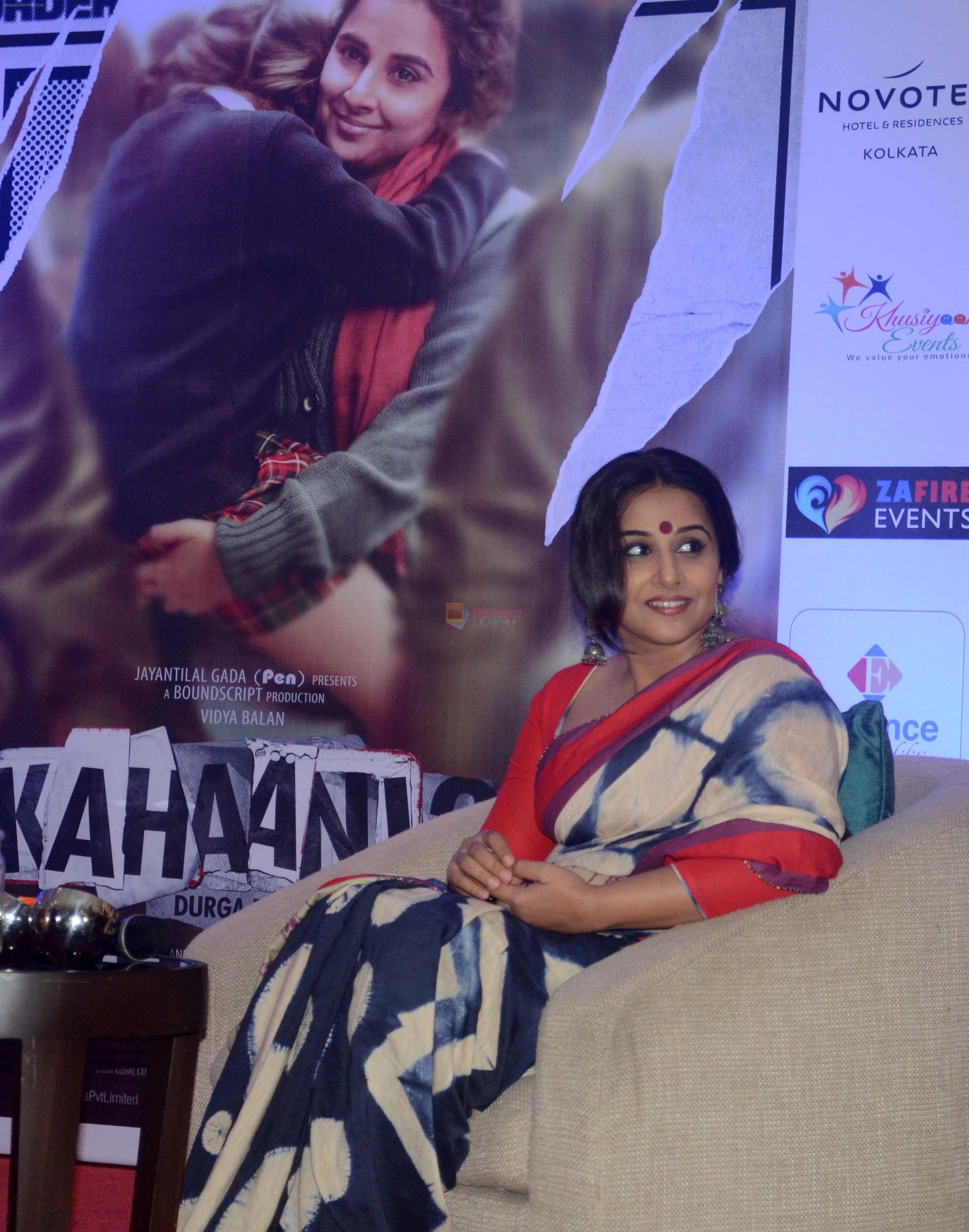Vidya Balan in Hyderabad for Kahaani 2 promotions on 23rd Nov 2016