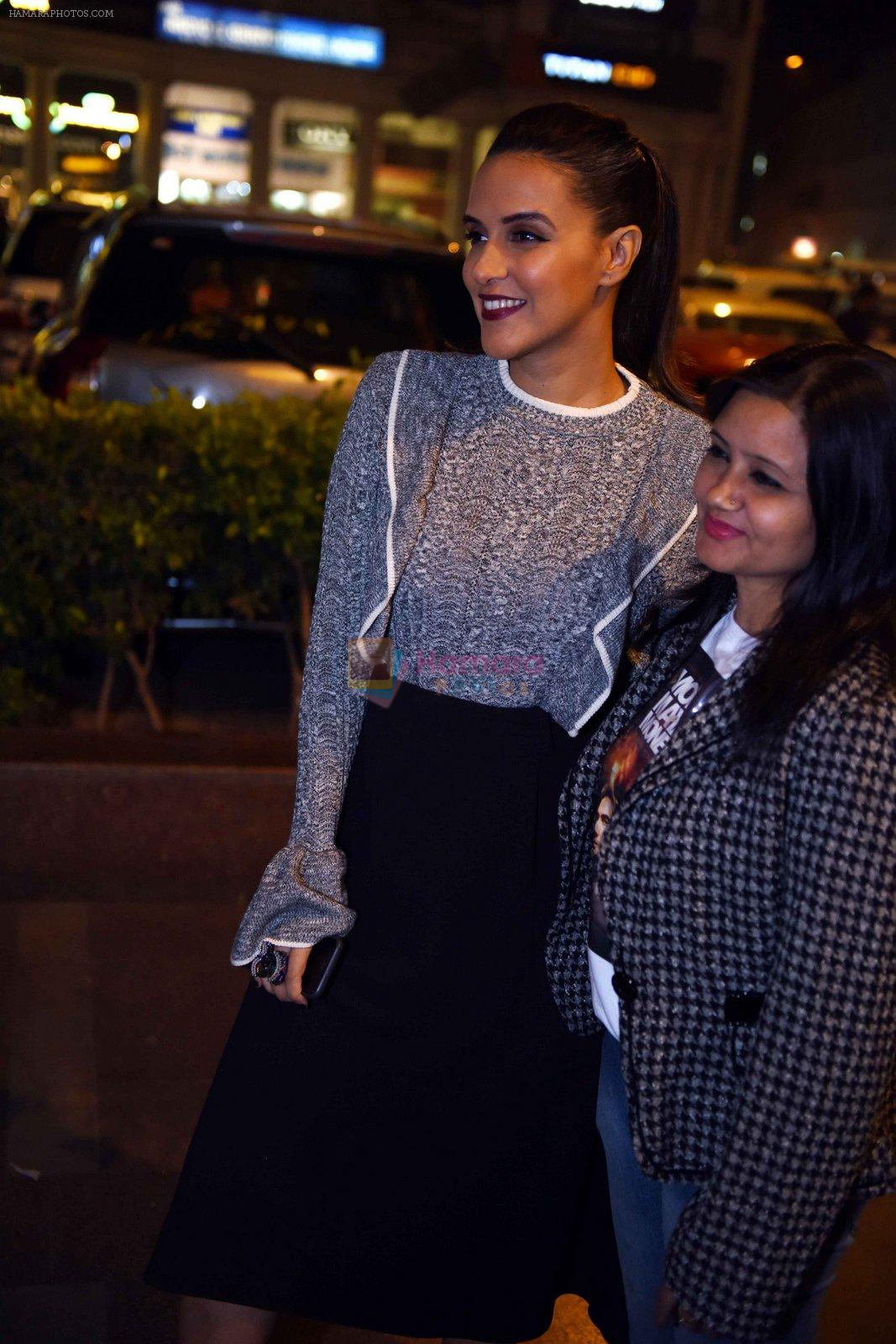 Neha Dhupia at Moh Maya Money premiere on 23rd Nov 2016