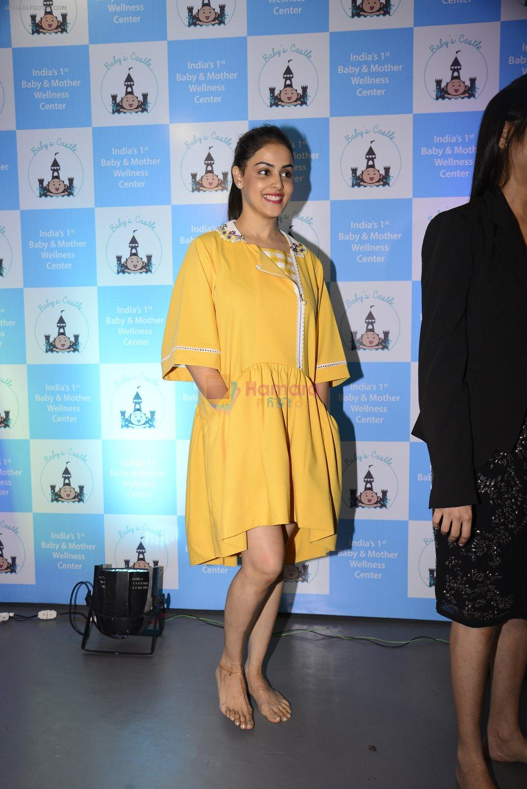 Genelia D Souza at mother baby care centre launch on 23rd Nov 2016