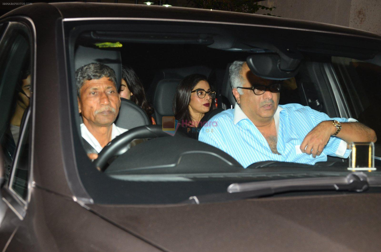 Boney Kapoor at Dear Zindagi screening on 23rd Nov 2016