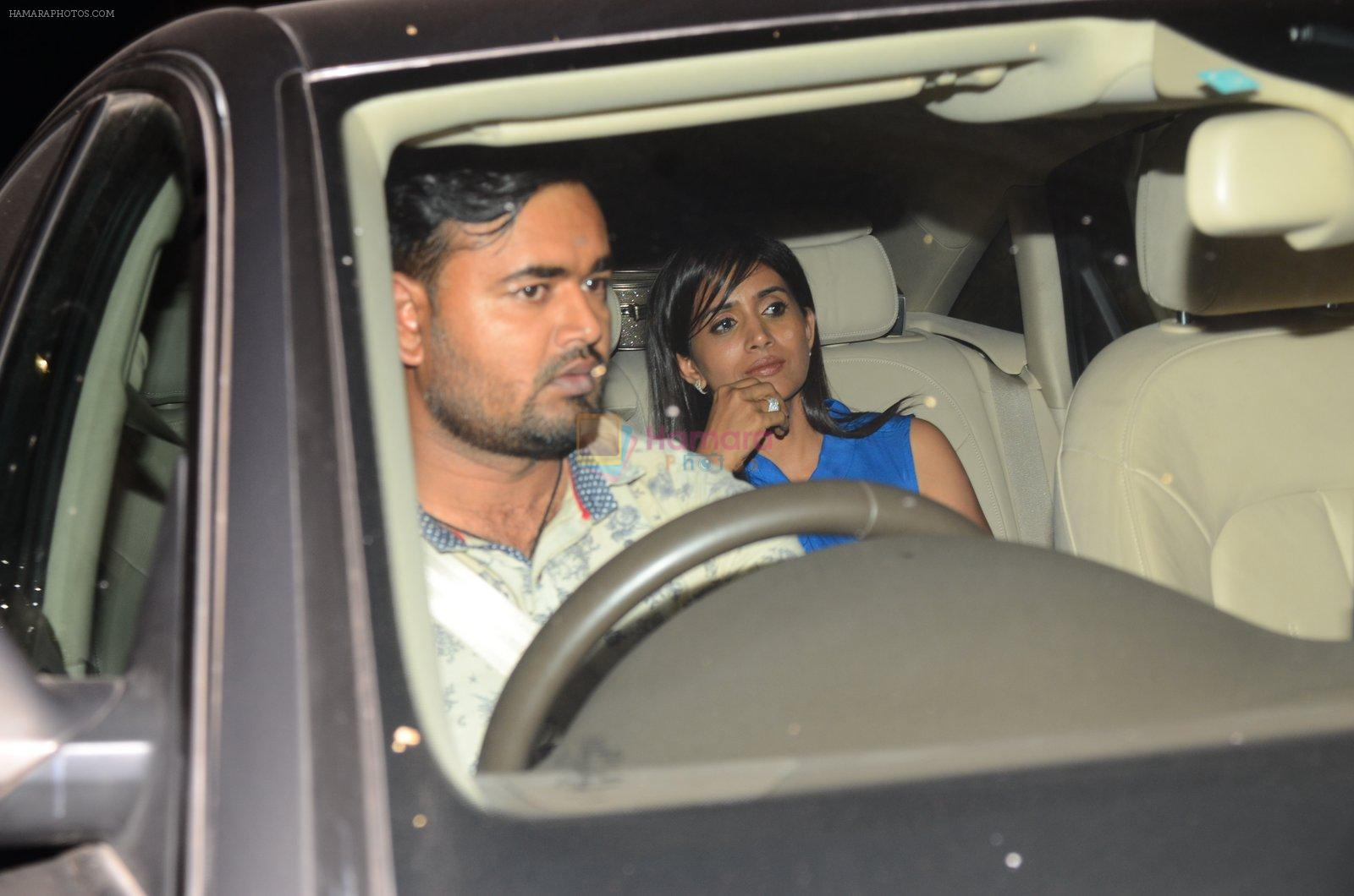 Sonali Kulkarni at Dear Zindagi screening on 23rd Nov 2016