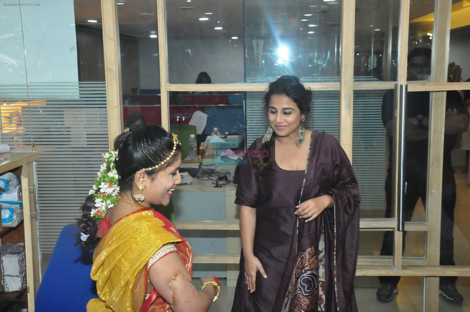 Vidya balan at Kahaani 2 Movie promotion in radio mirchi on 23rd Nov 2016