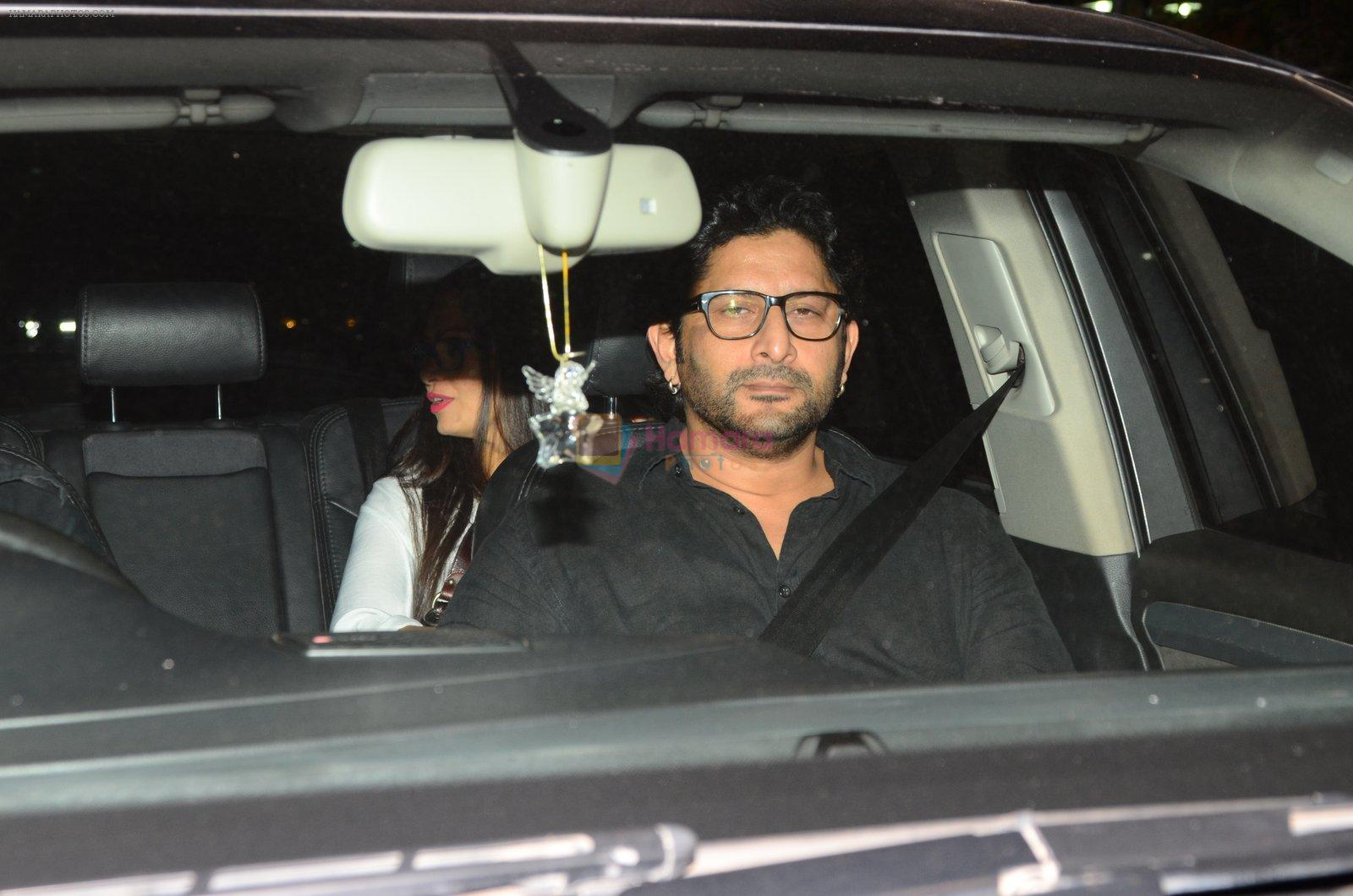 Arshad Warsi at Dear Zindagi screening on 23rd Nov 2016