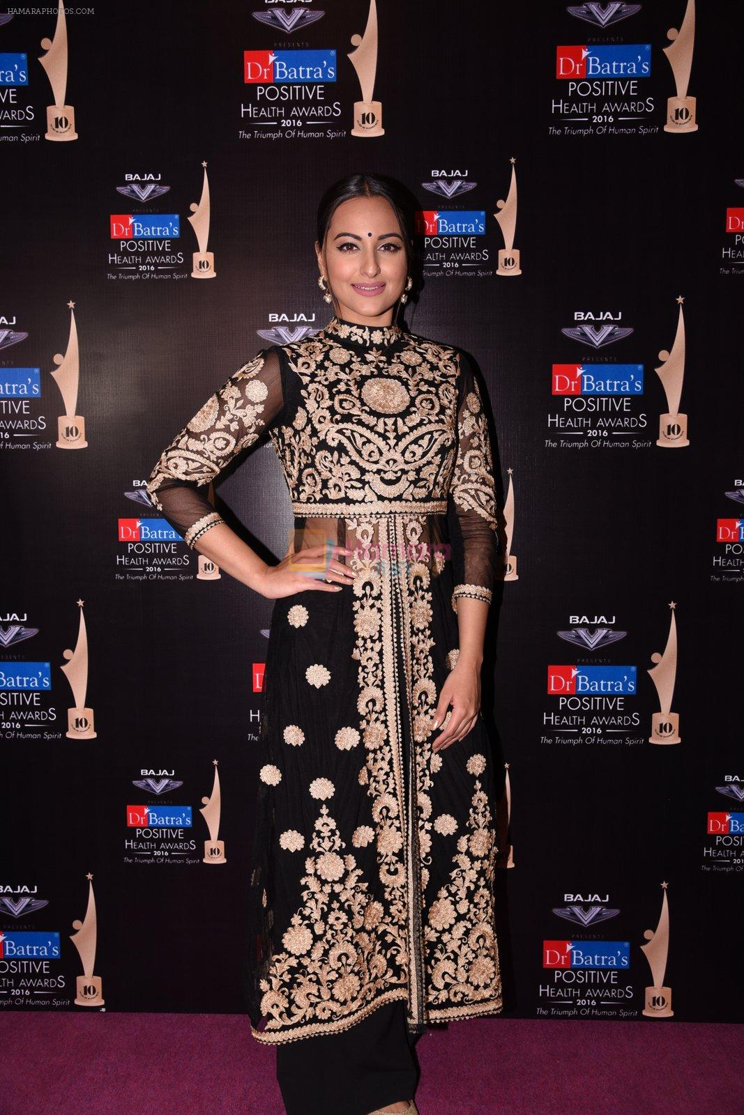 Sonakshi Sinha at Positive Health Awards on 23rd Nov 2016