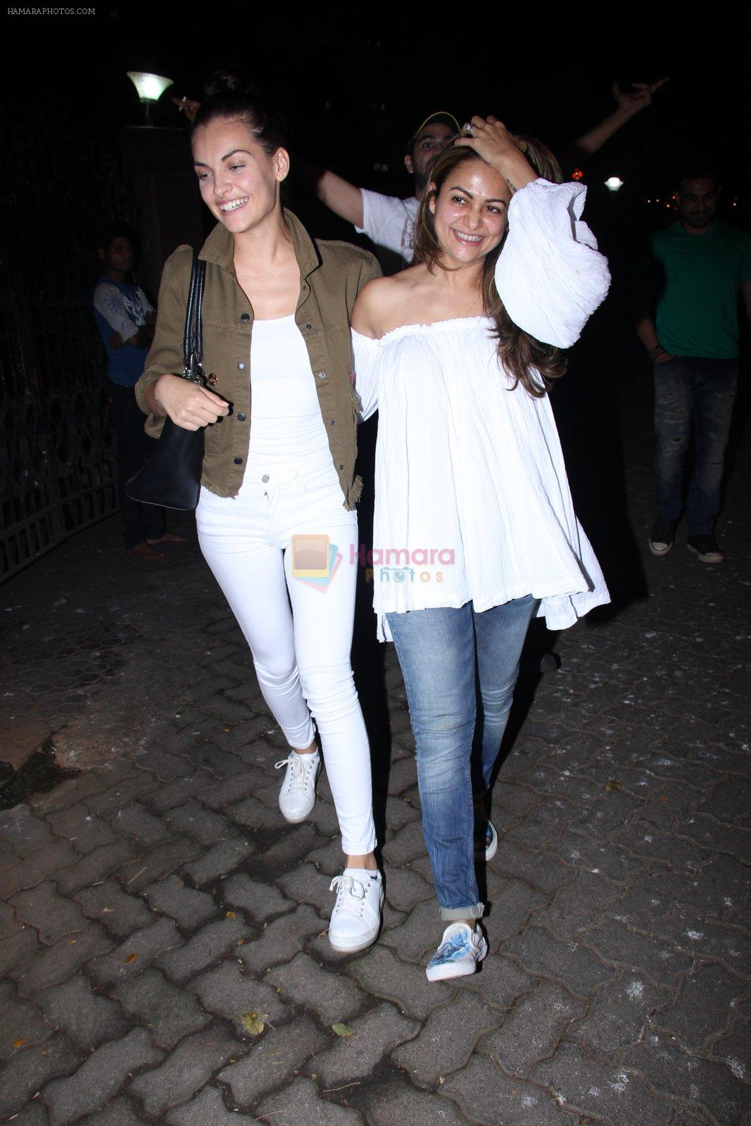 Amrita Arora at Deanne Pandey hosts bash for Aayush and Arpita on 23rd Nov 2016
