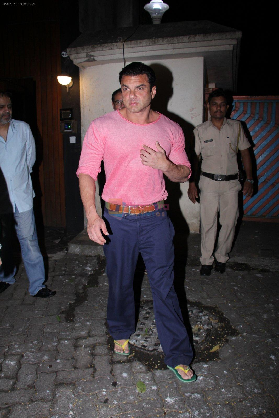 Sohail Khan at Deanne Pandey hosts bash for Aayush and Arpita on 23rd Nov 2016