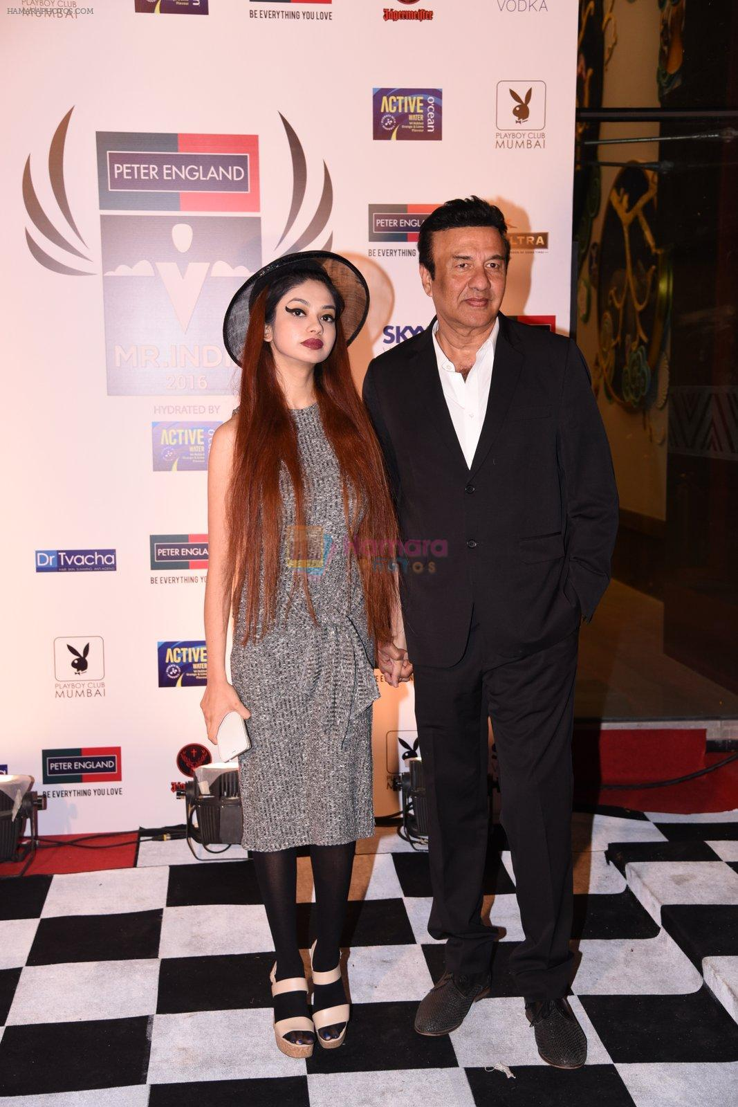 Anu Malik at Peter England Mr India on 24th Nov 2016