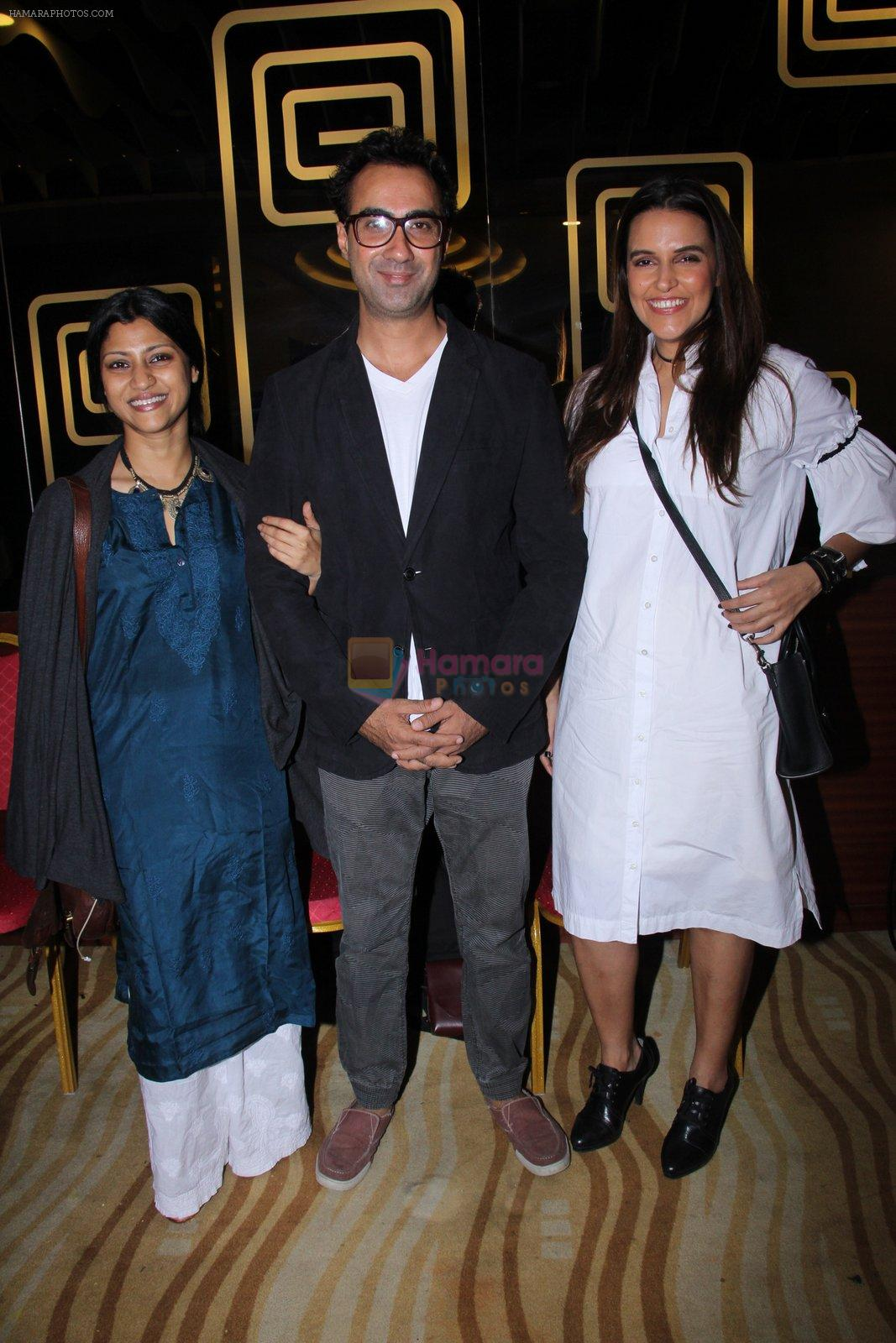 Konkona Sen Sharma, Neha Dhupia, Ranvir Shorey at Moh Maya Money screening on 24th Nov 2016