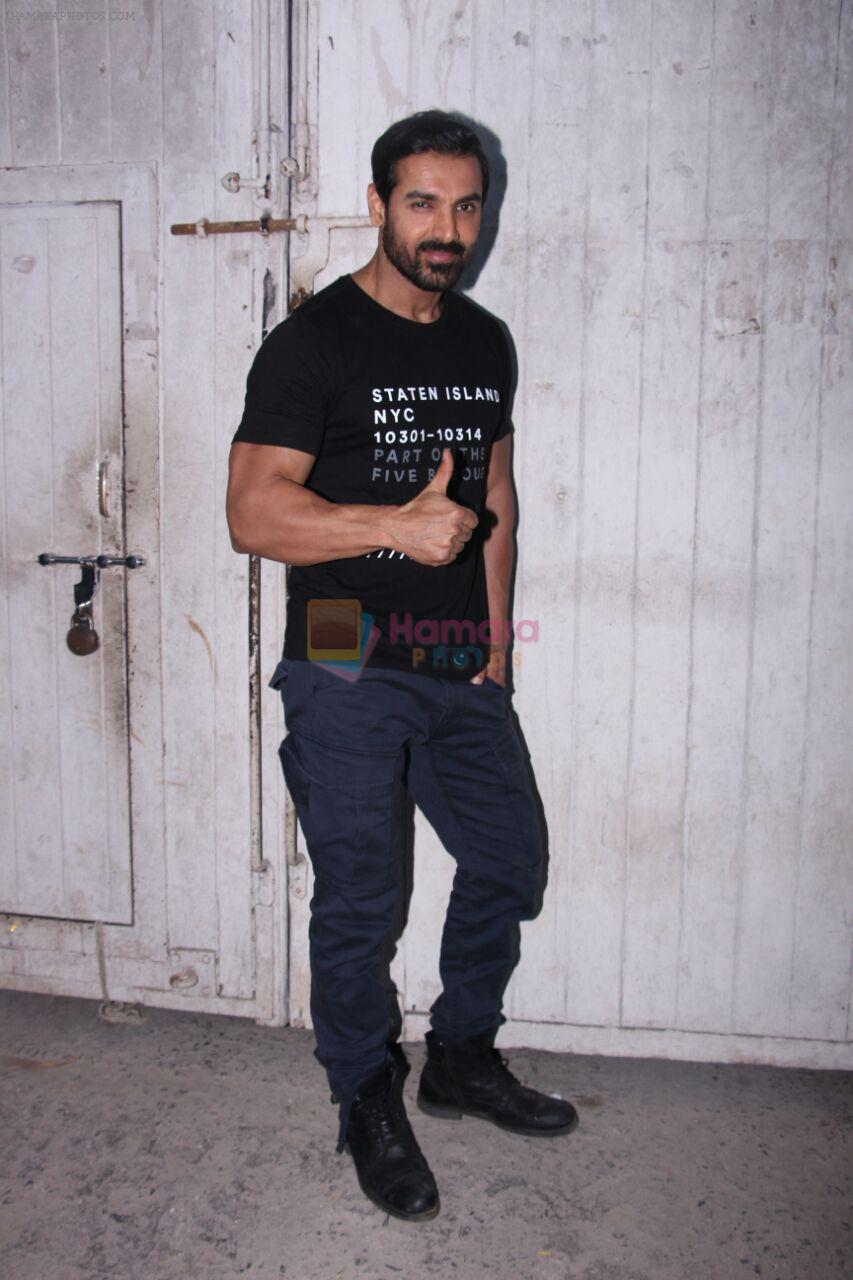 John Abraham at the promotions of Force 2 on 25th Nov 2016
